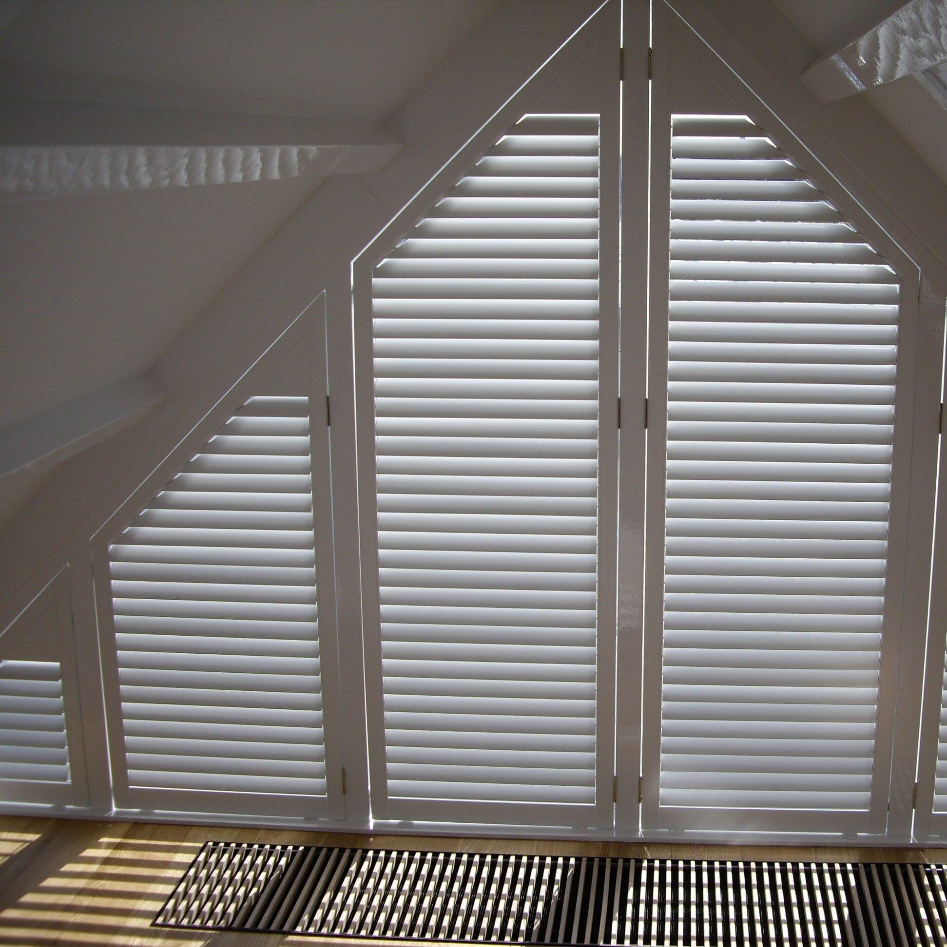 Wonderbaarlijk Raambekleding voor bijzondere raamvormen - Zonnelux NS-26