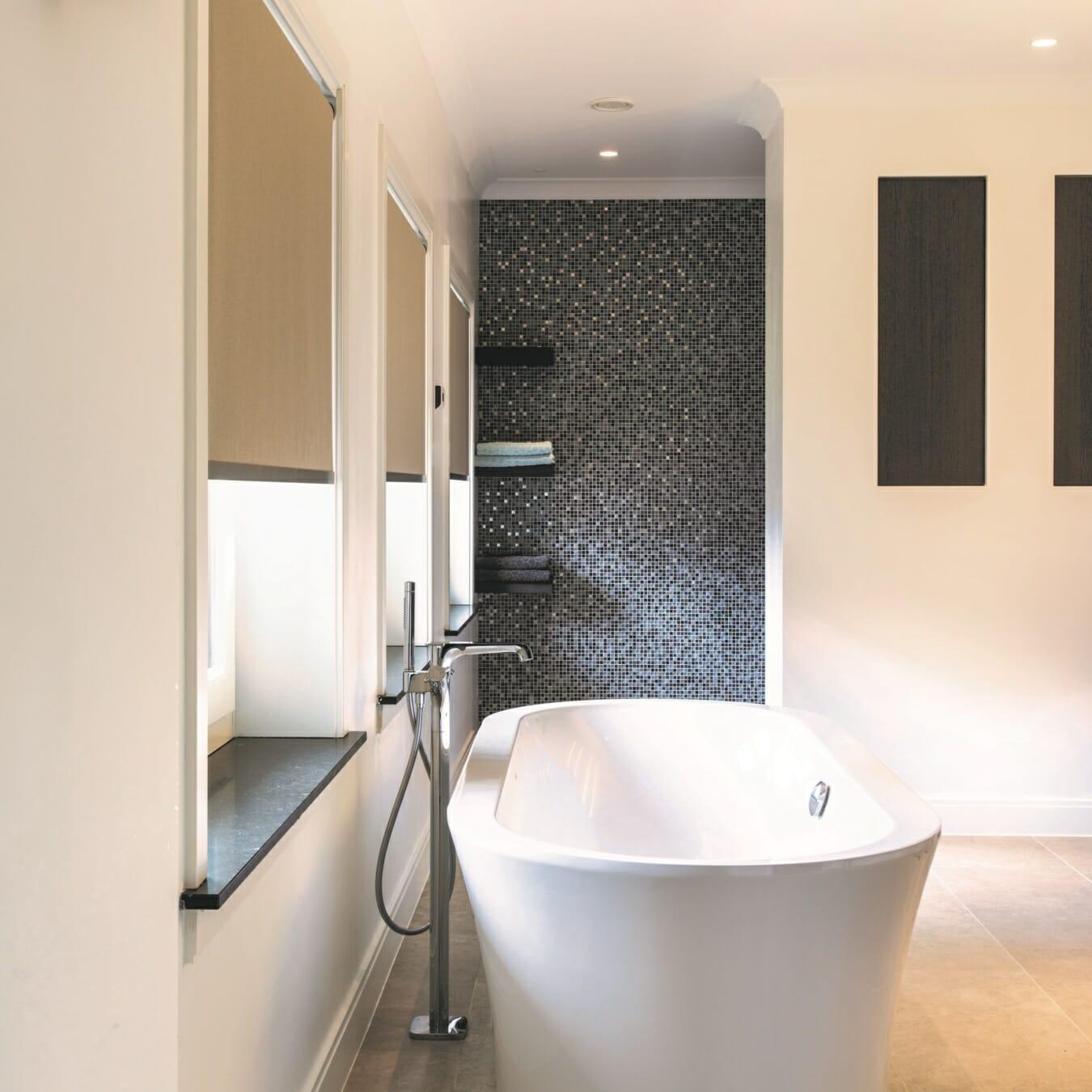 Rolgordijnen badkamer