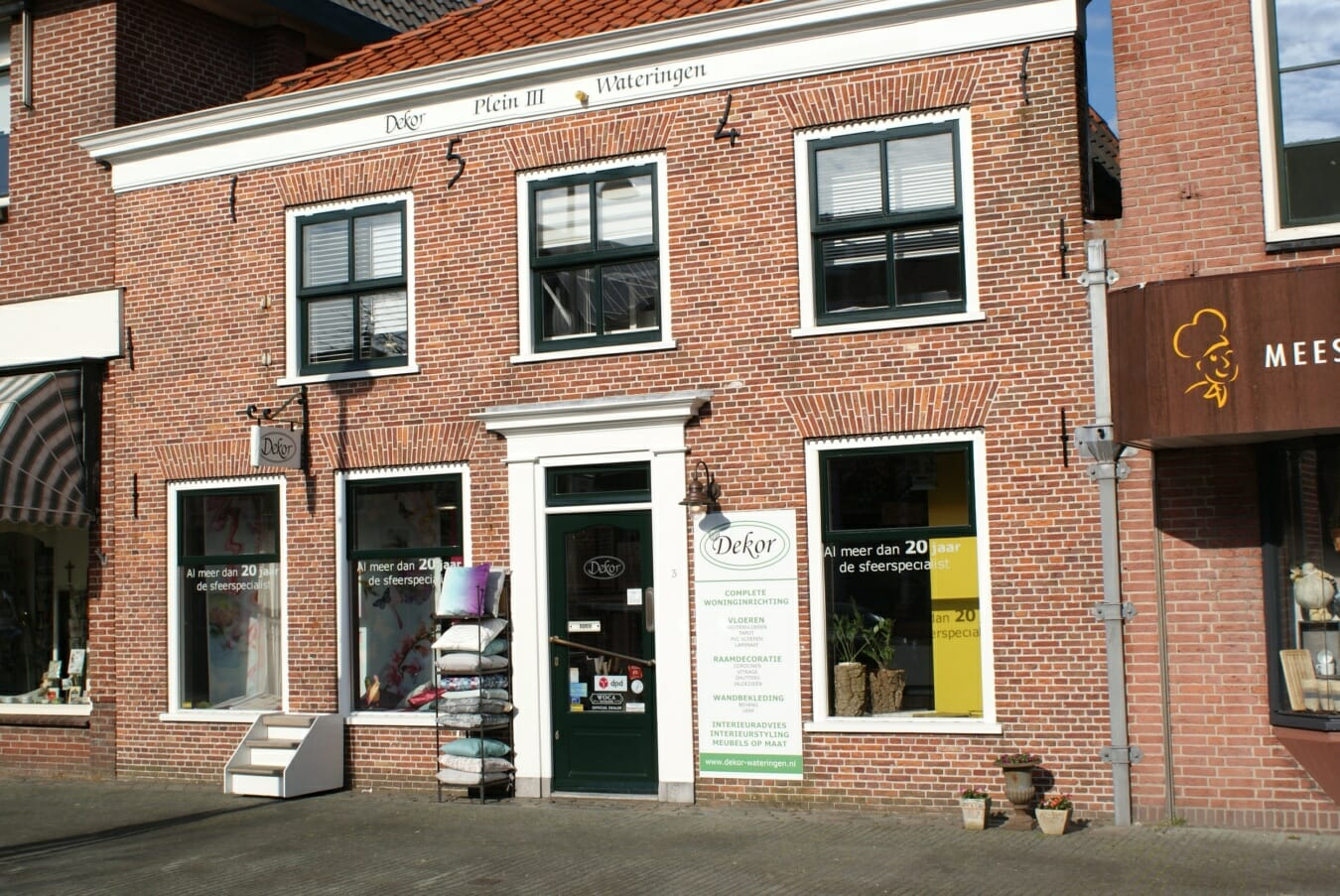 Dekor Wateringen - winkelpand