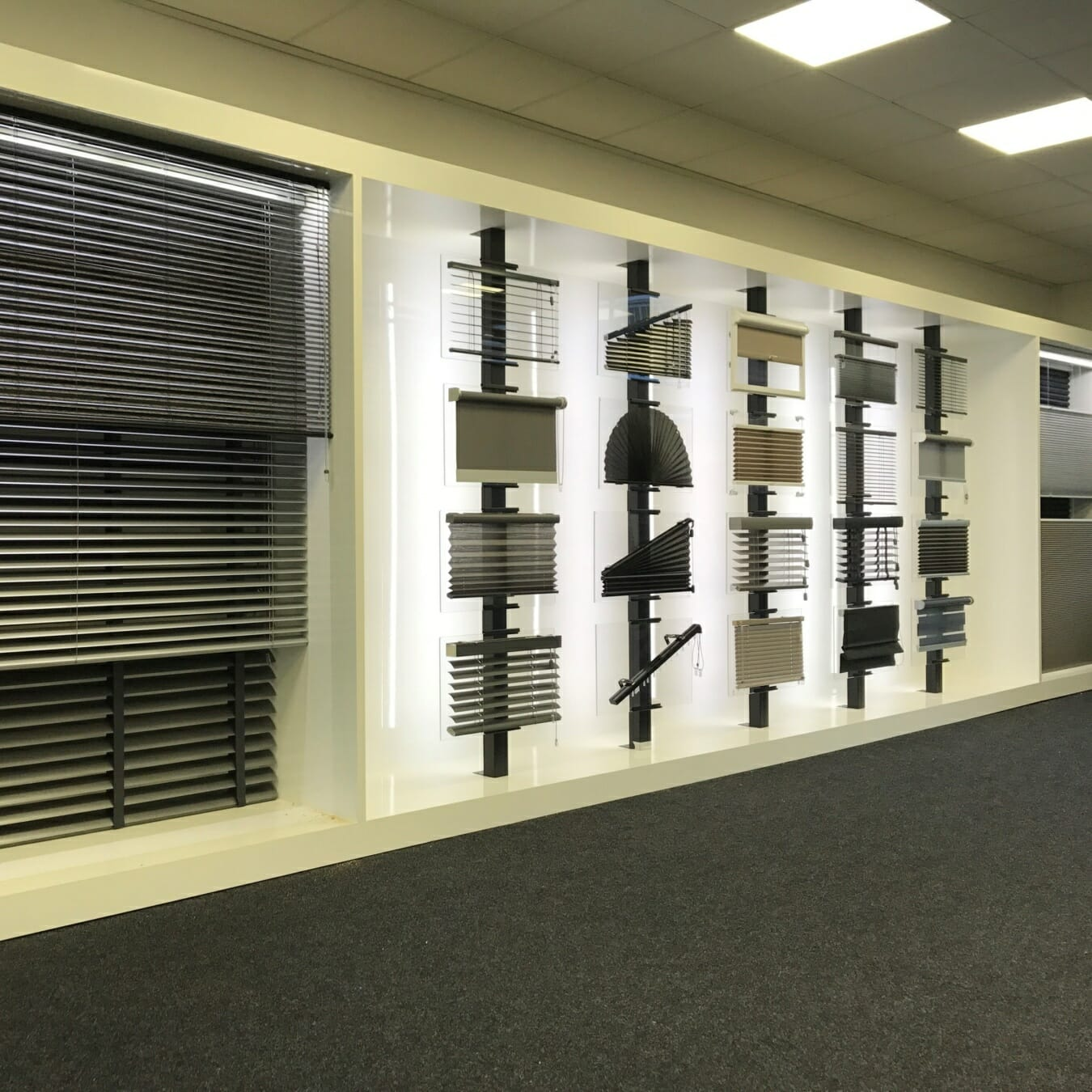Excelsior Zonwering - showroom