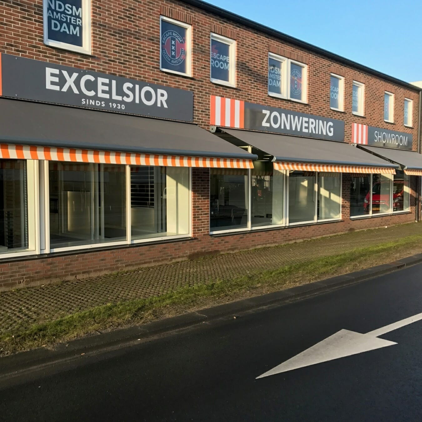 Excelsior Zonwering - winkelpand