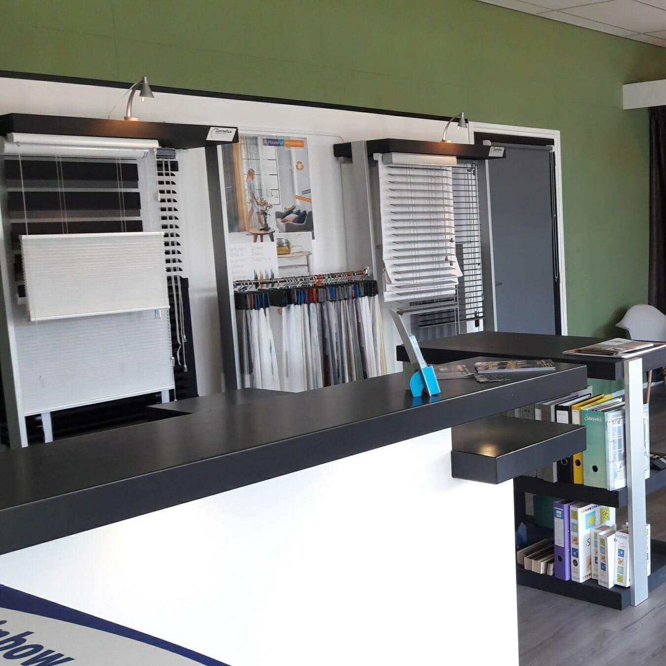 Oosterhoff Raamdecoratie & Zonwering - showroom