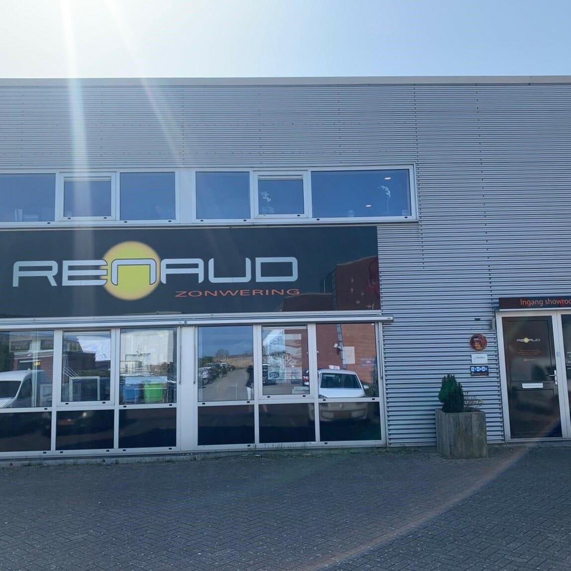 Renaud zonwering - winkelpand