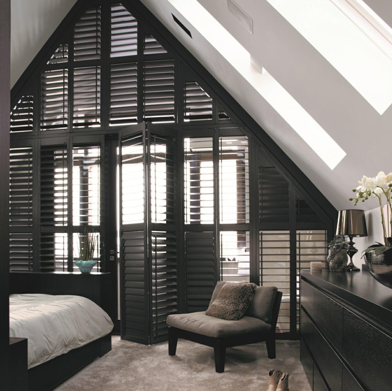 zonnelux shutters slaapkamer