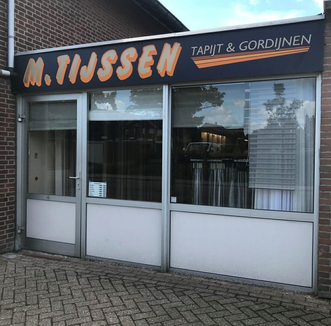 Tapijthal Tijssen - winkelpand