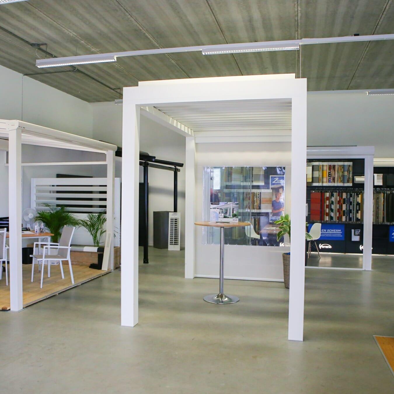 Zon en Scherm Berkel en Rodenrijs - showroom