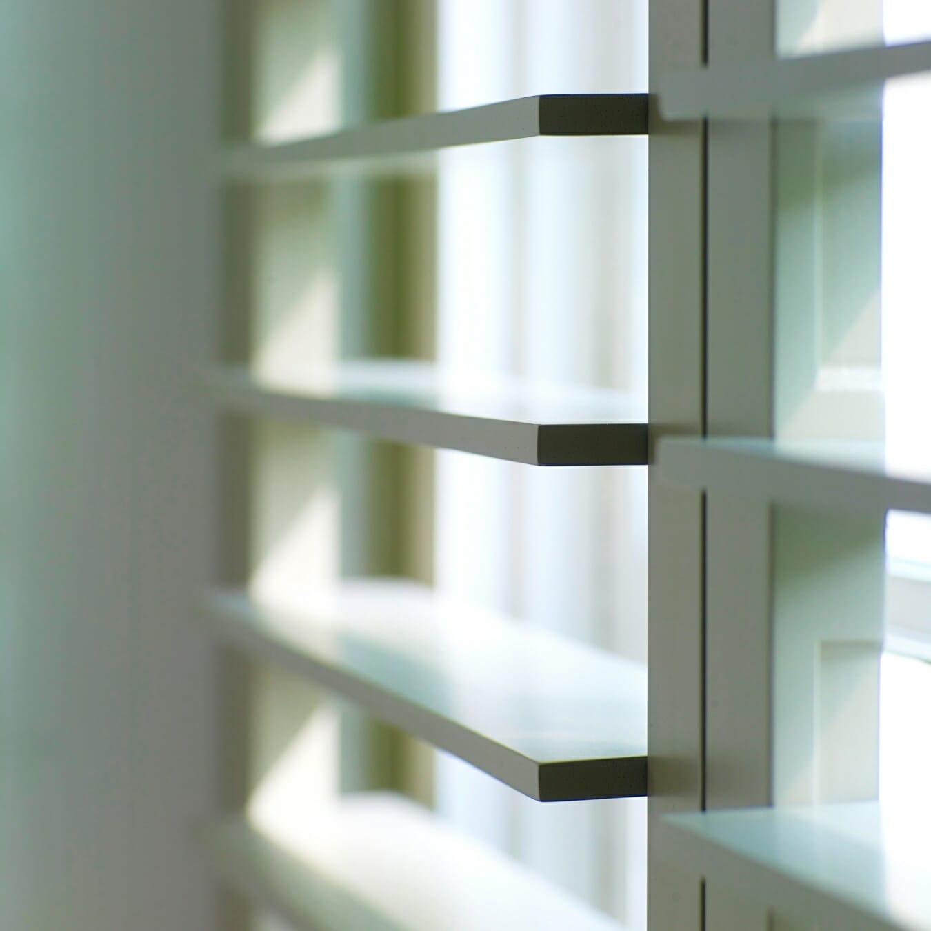 Piet Boon shutters by Zonnelux lamellen