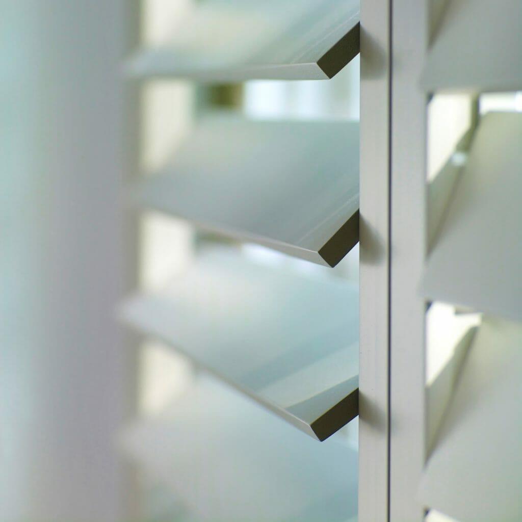Piet Boon shutters by Zonnelux rechthoekige lamellen