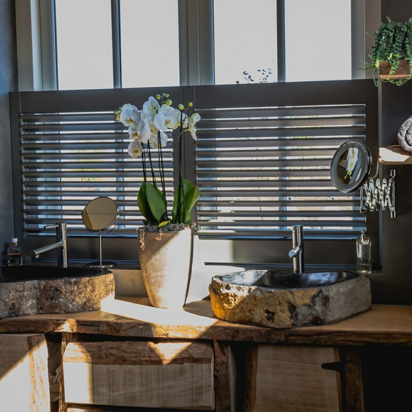 Piet Boon shutters wasbakken