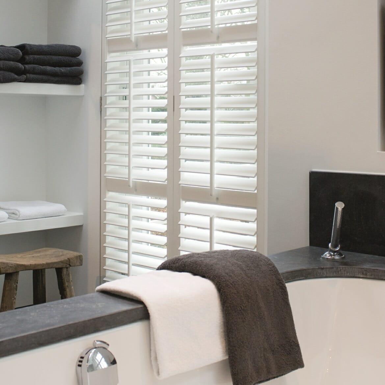 Zonnelux shutter badkamer