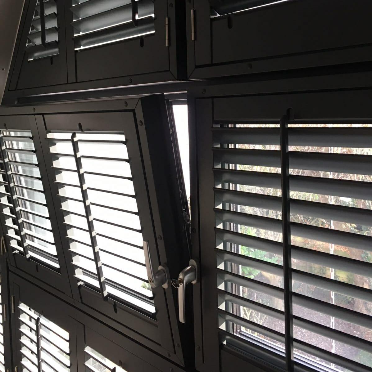 Zonnelux shutters draai-kiepraam