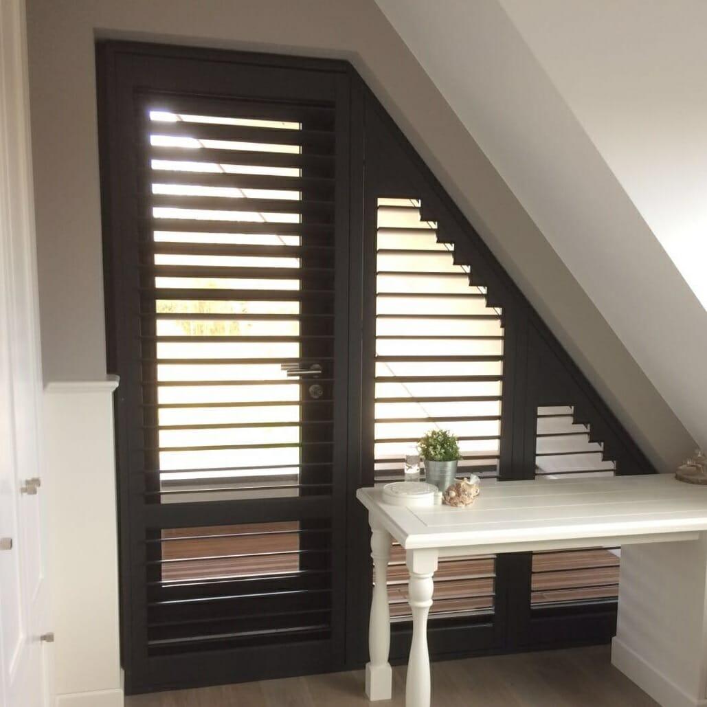 Shutters trapezium raam en deur